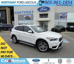 2017 BMW X1 xDrive28i | AWD | PWR HTD LEATHER | PANO ROOF |