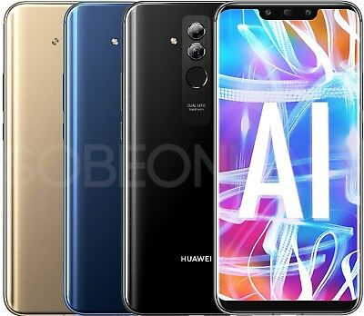 "New Huawei Mate 20 Lite L23 64GB (Factory Unlocked) GSM 6.3"" International Model"