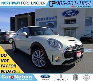 2018 Mini Clubman Cooper S | AWD | PWR HTD LEATHER | PANO ROOF |