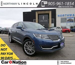 2018 Lincoln MKX Reserve | NAV | 360° CAM | PANO ROOF | HTD LEAT