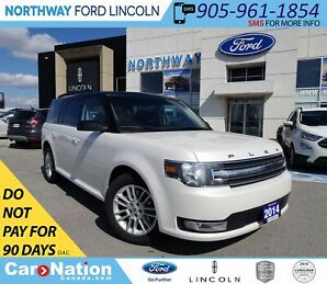 2014 Ford Flex SEL   PWR HTD LEATHER   PANO ROOF   3 ROWS  