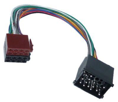 Din Iso Coche Radio Adaptador Cable Enchufe Para BMW E30 E31 E32...