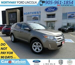 2013 Ford Edge SEL | AWD | NAV | PWR HTD LEATHER | PANO ROOF |