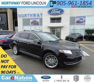 2018 Lincoln MKT Elite | NAV | HTD LEATHER | PANOROOF | PUSH STA