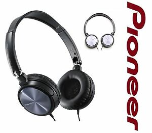 NEW PIONEER SE-MJ521 FULLY ENCLOSED DYNAMIC DJ HEADPHONES FOLDABLE 1000mW RRP$69