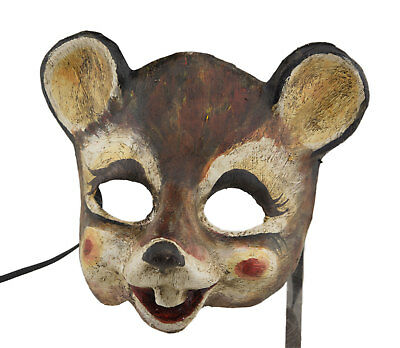 Mask from Venice Mouse in Paper Mache Collection Prestige Face Child 2405