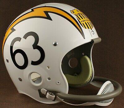 SAN DIEGO CHARGERS 1963-1964 NFL Riddell TK Suspension Football Helmet