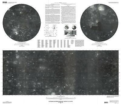 2002 U. S. Geological Survey Photomosaic Map of Callisto, Moon of Jupiter