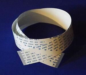FFC-A-40Pin-0-5Pitch-50cm-Flachbandkabel-Flat-Flex-Cable-Ribbon-AWM-HP-CS180