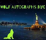 WOLF AUTOGRAPHS