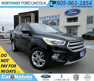 2017 Ford Escape SE | AWD |  PWR HTD SEATS | PANOROOF |