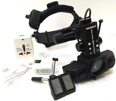 Free Shipping Led Indirect Ophthalmoscope With Accessories By Dr Harry