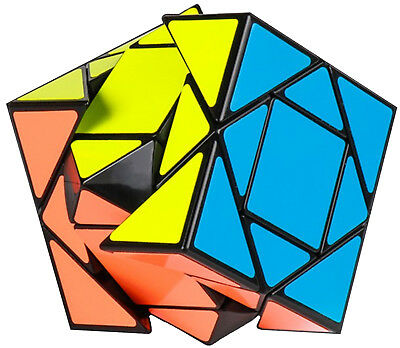 3x3 Moyu Pandora Speed Cube Skewb Magic Twist 3D Puzzle Brain Teaser USA SELLER