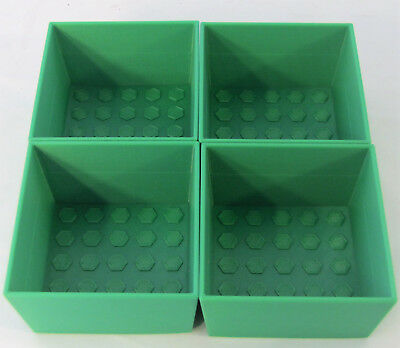4 Drawer Desk Organizer Tray 3x3x2 Vertical Lift Storage Stackable Office Bin