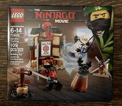 NEW Sealed LEGO 70606 NINJAGO Spinjitzu Training 109 Pcs with 2 Minifigs