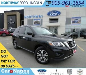 2017 Nissan Pathfinder SL | AWD | PWR LEATHER | HTD 1ST/2ND ROW