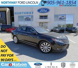 2013 Lincoln MKS | AWD | NAV | PWR HTD LEATHER | PANO ROOF |
