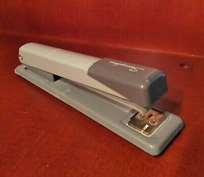 Vintage Swingline Stapler Model 402 - Industrial Gray