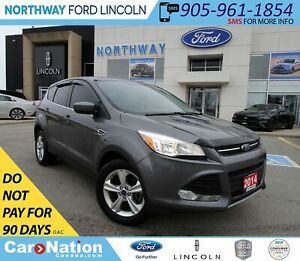 2014 Ford Escape SE | BACK UP CAM | KEYLESS ENTRY | FOG LAMPS |