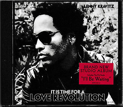 Lenny Kravitz - It Is Time for a Love Revolution -CD-  NEU+UNGESPIELT/MINT!