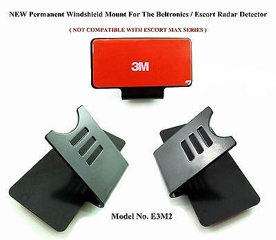 NEW Design Permanent Windshield Mount For The Beltronics / Escort Radar Detector