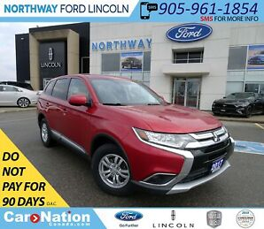 2017 Mitsubishi Outlander ES | AWD | HTD SEATS | BACKUP CAM | TOUCHSCREEN |