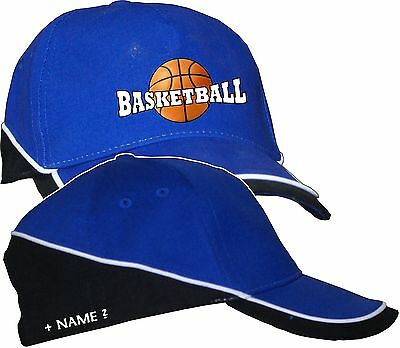 Basketball Sport Basecap Baseball Cap Kappe Mütze Logo  Name T-Shirt im Shop 2