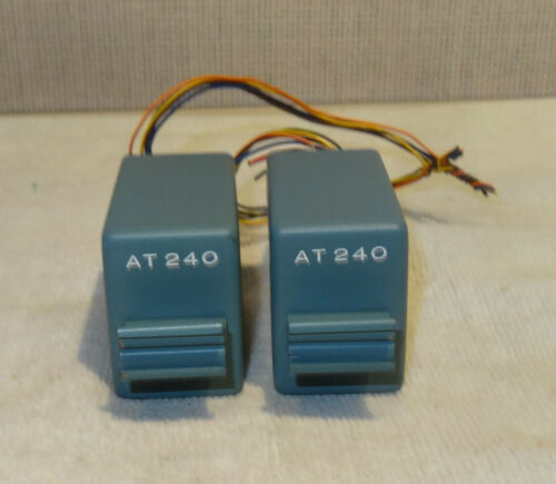 McCurdy AT240 Microphone audio transformers 37.5 and 150 ohm PAIR