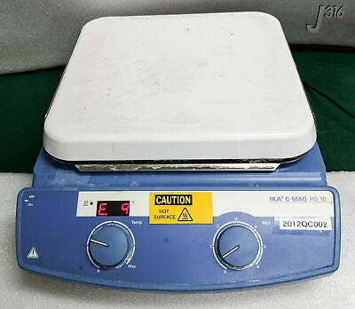 3007 Ika Digital Magnetic Hotplate Stirrer C-mag Hs 10 S2