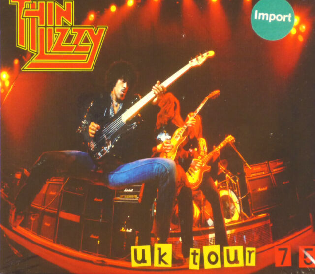 Maxi CD - Thin Lizzy - UK Tour 75 - #A2119