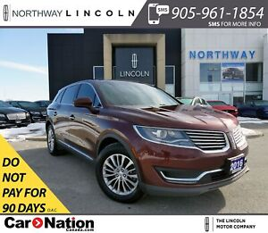 2016 Lincoln MKX Select | NAV | HTD PWR LEATHER | PANO ROOF |