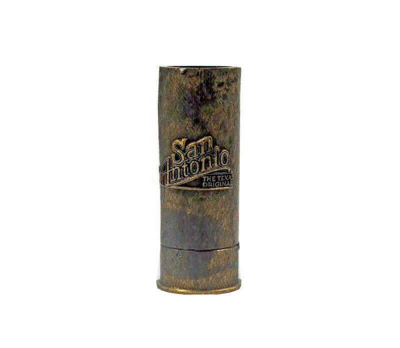 San Antonio Texas Home of Alamo Souvenir Advertising Shotgun Casing