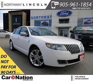 2010 Lincoln MKZ | HTD LEATHER | SUNROOF | REMOTE START |