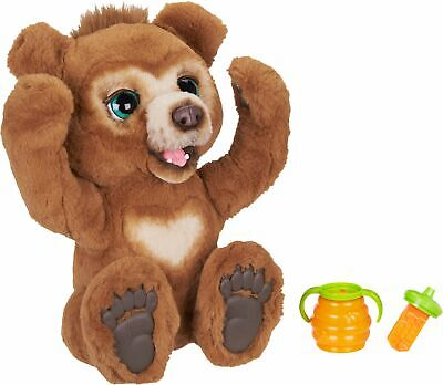 FurReal - Cubby, The Curious Bear Interactive Plush Toy