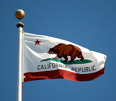 Nylon California State Flag - California State Flag Large Nylon USA Made Free Shipping 6x10 8X1  10X15 12X18FT
