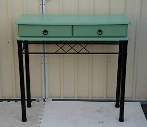 Attractive upcycled,green and black hall table,CAN DELIVER. Atwell Cockburn Area Preview