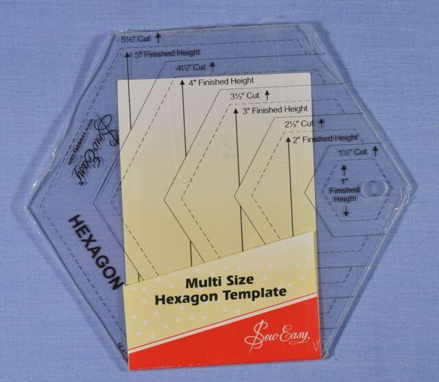 Sew Easy Hexagon Quilt Ruler