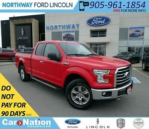 2016 Ford F-150 XLT | V8 | BACK UP CAM | PWR SEATS | XTR PKG |