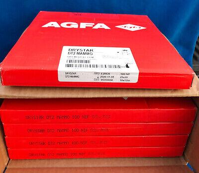 Case Of 500 Agfa Drystar Dt2 Mammo Dry Medical Film - Model E2ro8 - New In Box