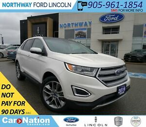 2016 Ford Edge Titanium | AWD | NAV | HTD LEATHER| PANOROOF |