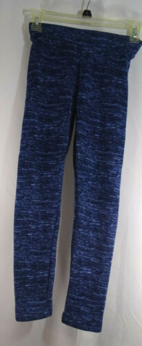 Old Navy Active Girls Large 10/12 large Leggings Colorful Blues Stretchy Pants