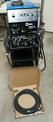 Miller Maxstar 91 110v Dc Tig Welder And Miller Snap Start Ii Torch Pedal Cart