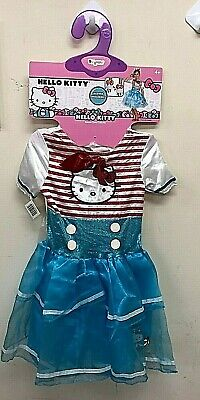 Childrens Hello Kitty Costume (Disguise Hello Kitty Girl's Deluxe Child Costumes Dress Up Small 4-6x)