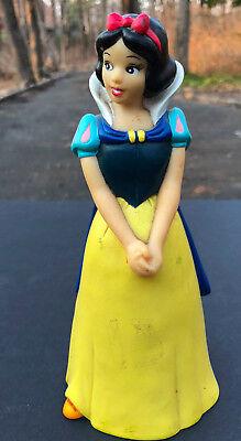 Snow White Plastic Coin Bank Vintage Disney