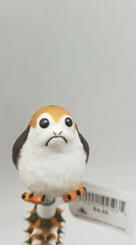 DISNEY PARKS - STAR WARS PORG TOPPER TRI-COLOR Squishy PEN NEW WITH TAGS