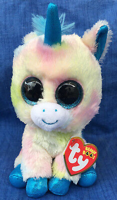 6b80a7de7fb w-f-l Ty Beanie Boos Blitz Unicorn Unicorn 5 7 8in Glubschi Boo ´s ...