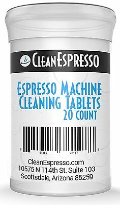 20 Pack Breville Espresso Cleaning Tablet Generic Cleaner BEC250 Coffee Maker