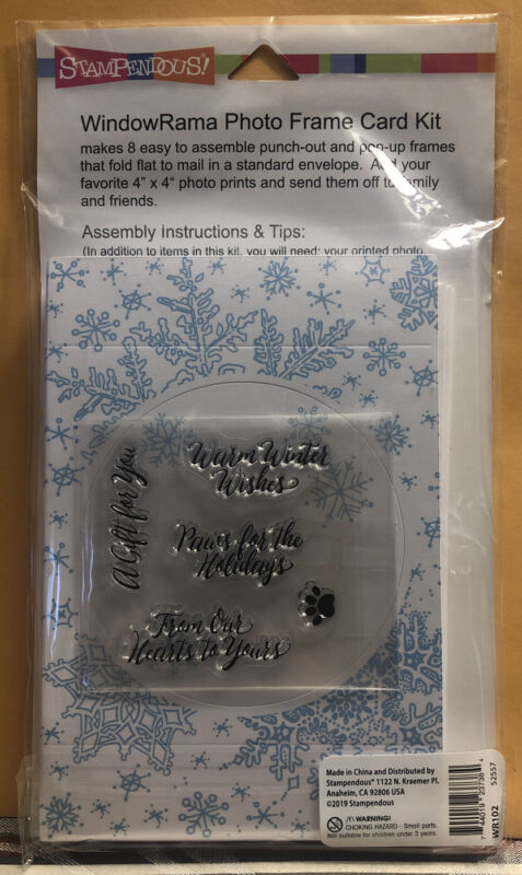 STAMPENDOUS Card KIT ~ WINTER ~  WR102