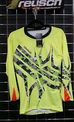 40b1773cf Reusch Soccer Goalie Goalkeeper Jersey 3711600S Arachnid Pro-Fit Yellow  YOUTH L