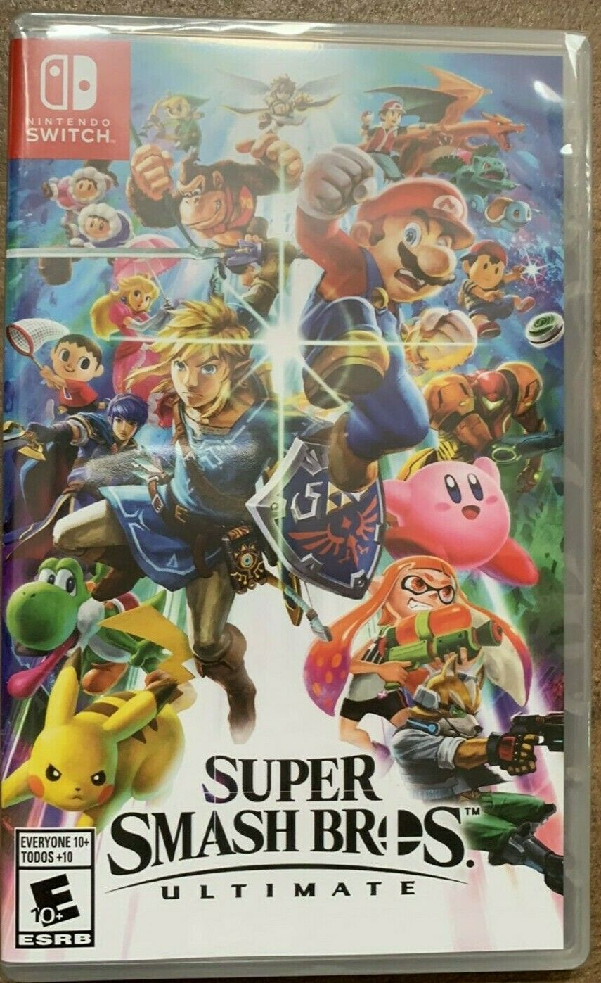 Super Smash Bros. Ultimate - Nintendo Switch *New Sealed